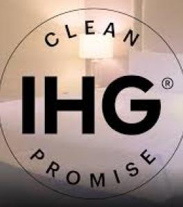 Showing the IHG Clean Promise Logo